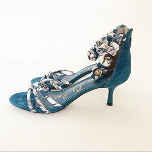Sam Edelman Jayde blue heel bx147